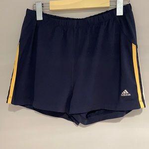 🧘♀️2/$30 ADIDAS Athletic short navy blue medium